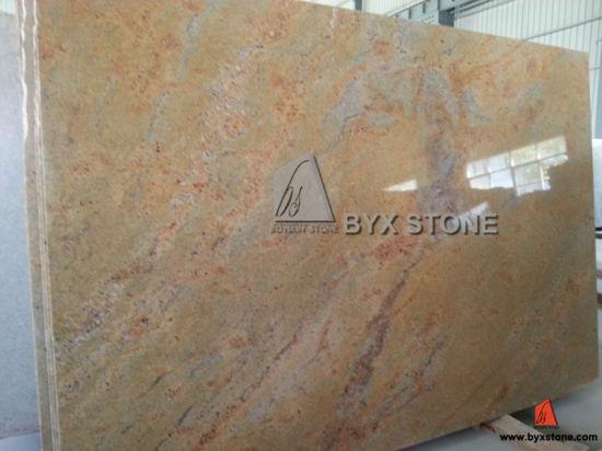 Kashmir Gold Granite Slabs For Countertop And Tiles