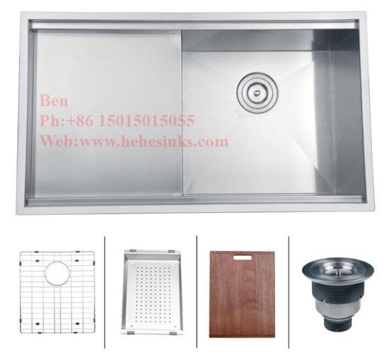 China Stainless Steel Handmade Kitchen Sink, Sink, Stainless Steel ...