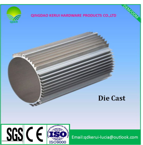 Aluminum Die Casting Electrical Motor Cover