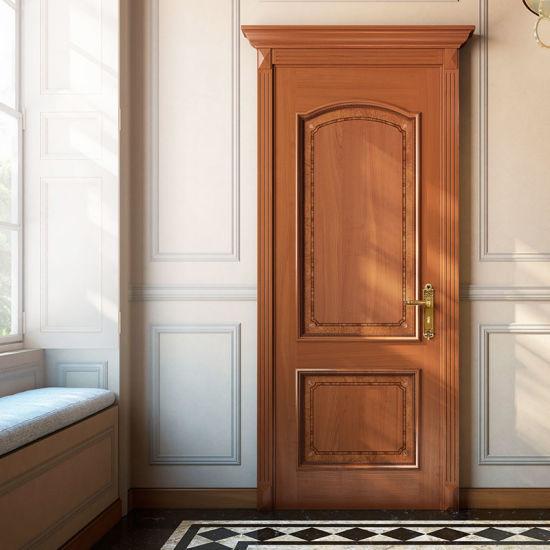 China Oppein Cherry Wood Interior Veneer Laminated Wood Door Msgd37