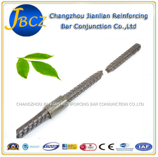 Bartec Standard Construction Materials Reinforcing Steel Rebar Mechanical Splice pictures & photos