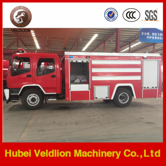 190HP 6m3 Water Tank Fire Truck with 2m3 Foam Tank pictures & photos