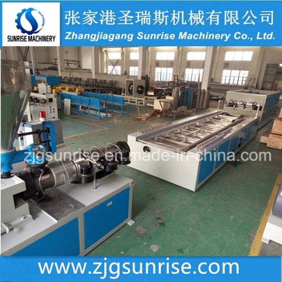 PVC Wall Panel PVC Window Ceiling Profile Extrusion Line pictures & photos