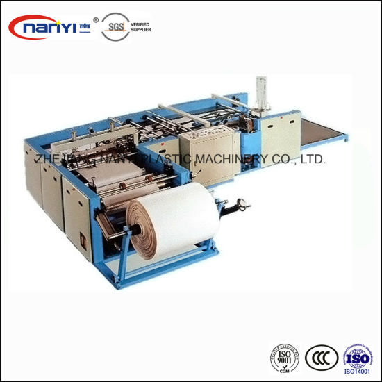 PP Plastic Woven Bag Automatic Cutting and Sewing Machine