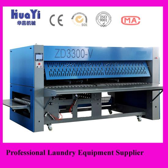 Laundry Shop Hospital And Hotel Bedsheet Folding Machine