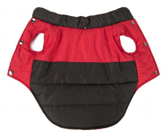 Winter Padded Reversible Waterproof Red Dog Puppy Clothes pictures & photos