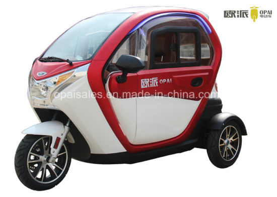 China 3 Wheel Electric Mini Car Neighborhood Smart Electric Car