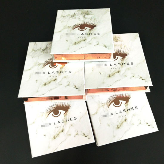 9d36293d368 Wholesale Top Quality Luxury Marble Printing Private Label Magnetic Eyelashes  Packaging Box