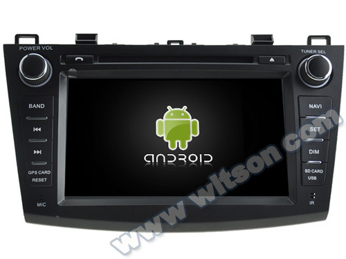 Witson Android 5.1 Car DVD GPS for Mazda3 2010-2011 (A5793) pictures & photos