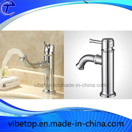 Modern Design Metal Faucets/Taps/Mixer for Bathroom Basin pictures & photos