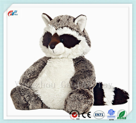"Sweet and Softer 12"" Rocky Raccoon Soft Animal Toy"