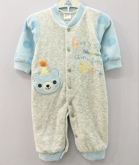 Cute Infant Clothes Soft Warm Baby Romper