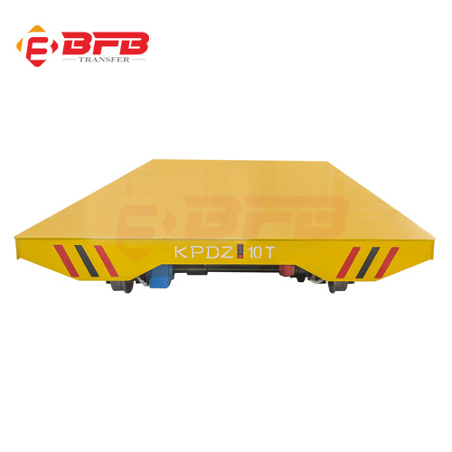 New Electric Heavy Duty Material Transfer Cart Made of Steel Flat Board pictures & photos