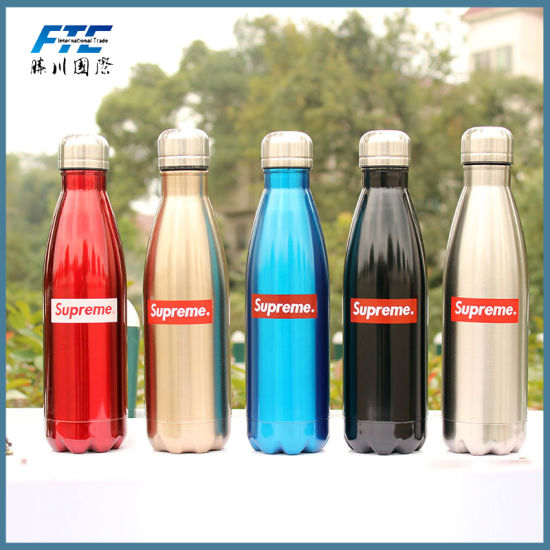 china stainless steel sport water bottle custom swell bottle china