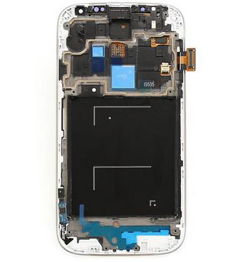 OEM I9500 LCD Display Screen Assembly for Samsung S4 Frame pictures & photos