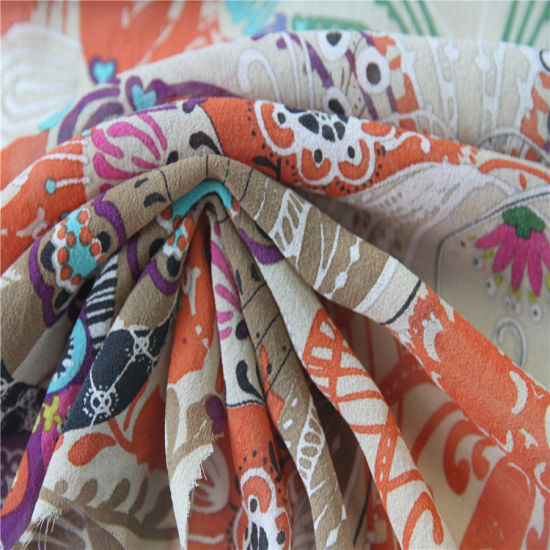 10mm Georgette Printing Silk Fabrics