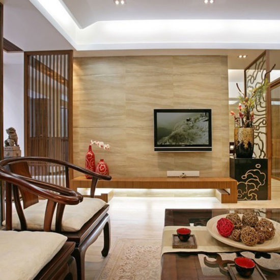 TV LCD Wooden Stand Designs Unit For Living Room