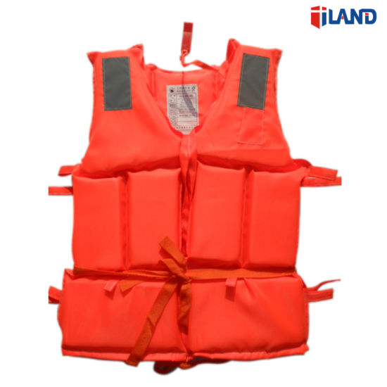 Solas Water Floating EPE Foam Life Vest Jacket for Lifesaving and Rescue