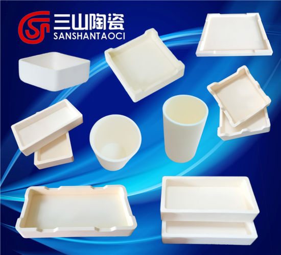 Customize 99% Alumina Ceramics Saggar pictures & photos