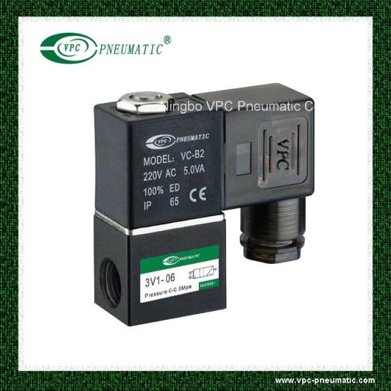 Solenoid Valve Pneumatic Control Valve Air Valve pictures & photos