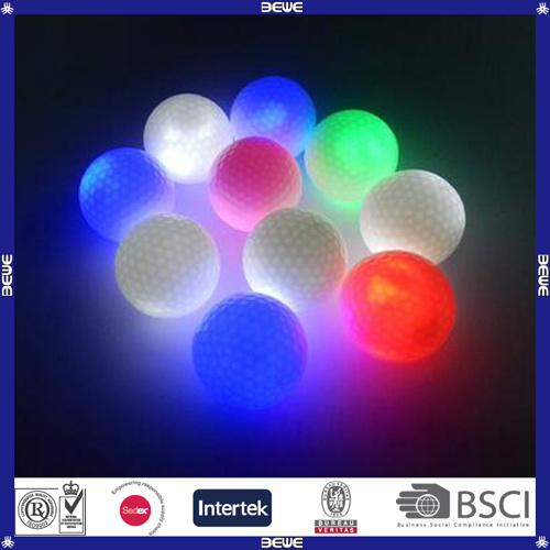 High Quality Flashing Luminous Golf Ball pictures & photos