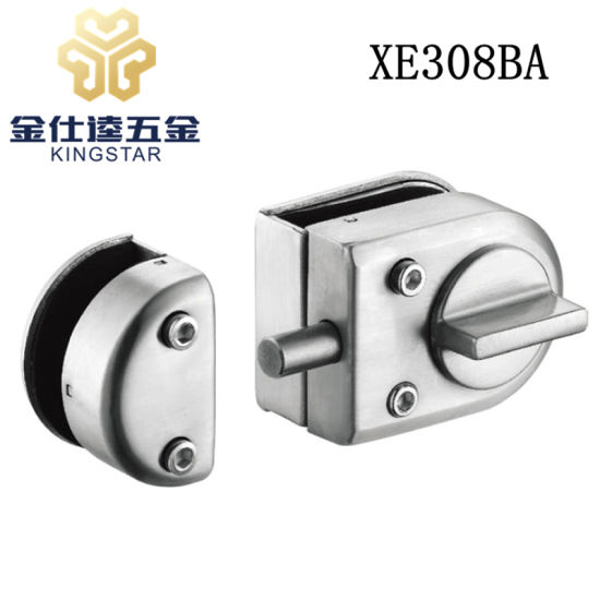 Glass Door Fitting Glass Door Lock With Knob Stop Button XE308BA  sc 1 st  Hangzhou Kingstar Hardware Products Co. Ltd. & China Glass Door Fitting Glass Door Lock With Knob Stop Button ...
