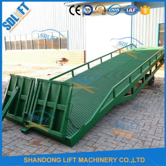 Mobile Container Load Ramp pictures & photos