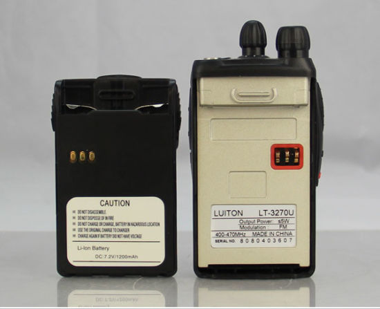 China Handheld Ham Radio Lt-3270 2 Way Radio 199 Channel
