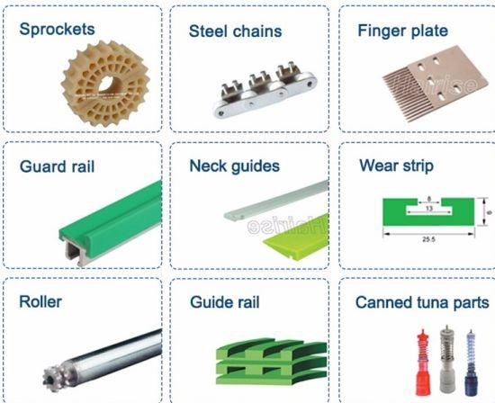 Table Top Chain Conveyor Guide Rail