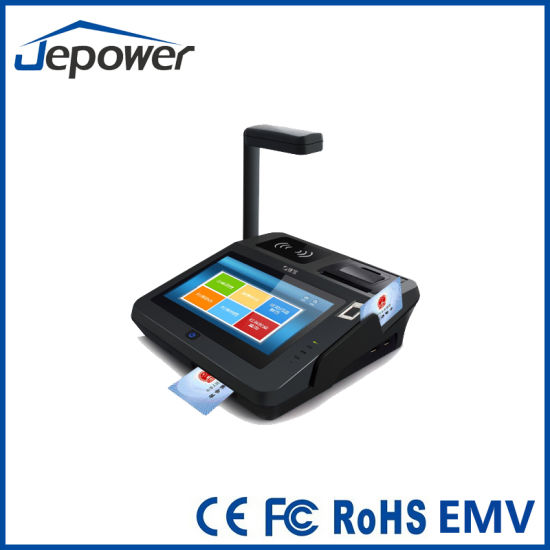 Touch Screen Android POS Terminal with Thermal DOT Line Printing pictures & photos