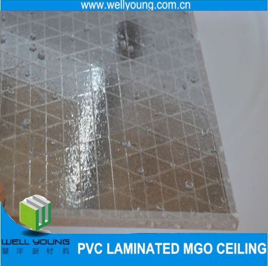 Various Designs PVC MGO Board Waterproof Ceiling Tiles pictures & photos