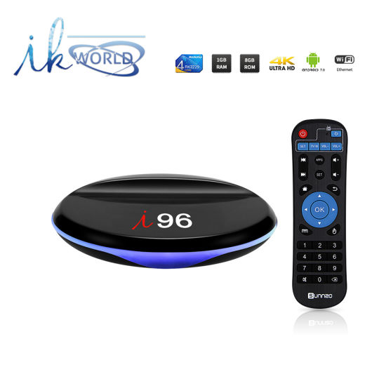China I 96 IPTV Android 7 1 2 Smart TV Box Rk3229 Chips 1GB