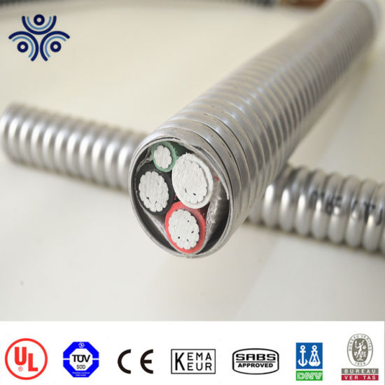 China Pvc Jacket Cable Mc Cable With Xhhw 2 Inners Single