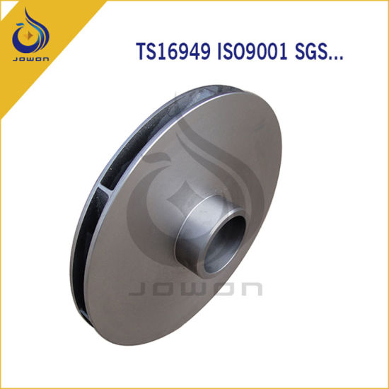 Iron Casting Agricultural Machinery Spare Parts Impeller pictures & photos