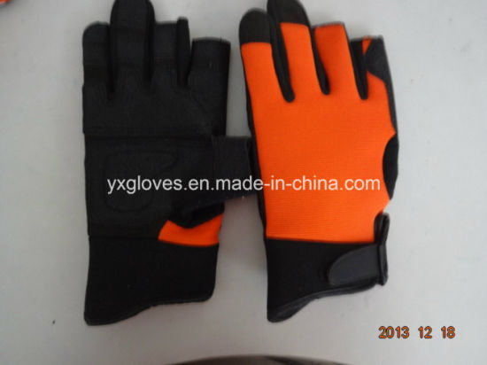 Work Glove-PVC Palm Glove-Gloves-Industrial Glove-Fishing Gloves-Safety Glove-Labor Glove pictures & photos