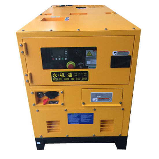 10kVA Super Silent Diesel Genset pictures & photos