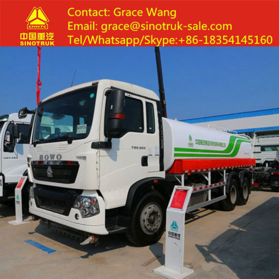 539dadb9b0 Sinotruk HOWO High Efficiency Water Tanker Truck for Sale with Low Price  and High Quality pictures