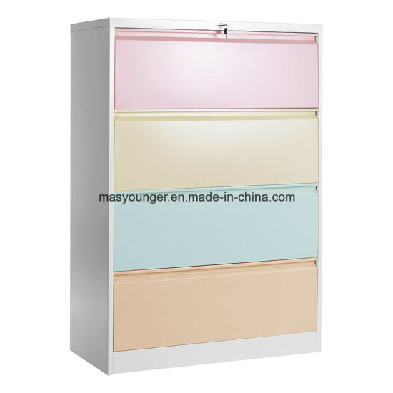 Attractive Metal Filing Storage Cabinet Steel Lateral Office File Safety Lock Folder