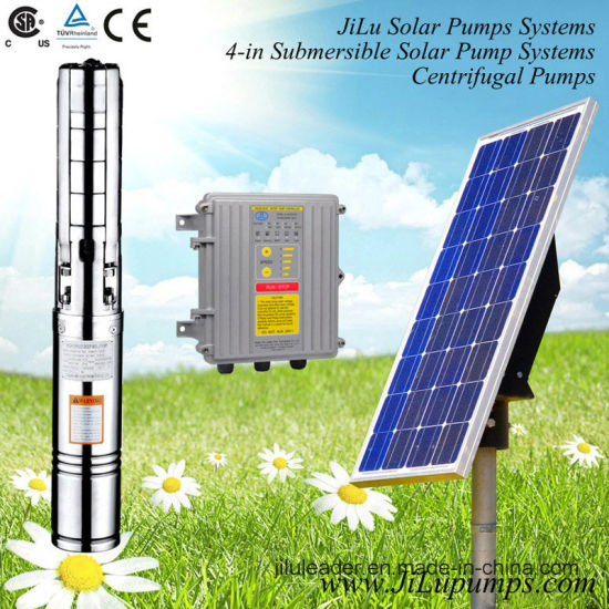 4inch Submersible Solar DC Water Pump 300W-1500W pictures & photos