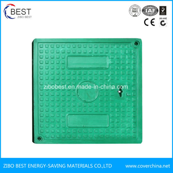 High Quality Fiberglass FRP GRP SMC Manhole Cover pictures & photos