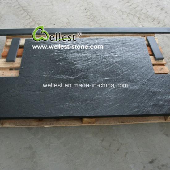 Slate Slabs For Fireplace Hearth Home Design Ideas