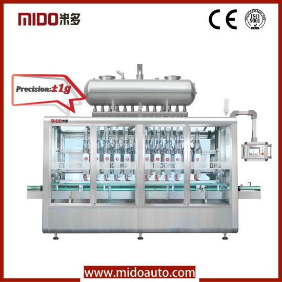 High Automatic Water Bottling Filling Machine with PLC Control pictures & photos