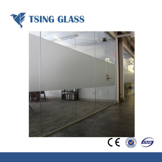 China 4 15mm Acid Etched Glass For Bathroomdooroffice China Acid