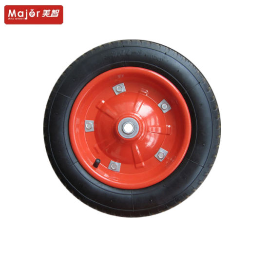 Rubber Wheel 13inch for Wheelbarrow /Tool Cart/ Hand Trolley pictures & photos