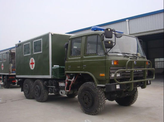 6X6 off Road Medical Vehicle /Mobile Clinic Truck