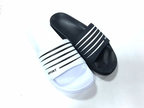 4ec3c306323326 China PU Upper Material and Unisex Gender Custom Slide Sandal ...