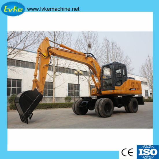 China Multi-Functional Hydraulic Pressure Wheel Excavator