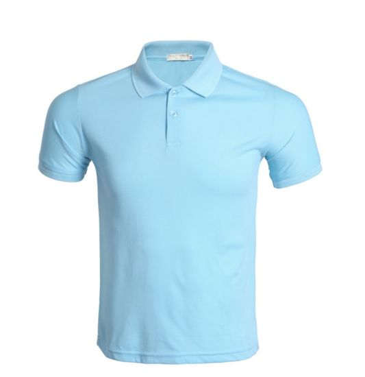 Men Oversized Custom Printing Office Work Wear Sportswear Dri Fit Polo T Shirts