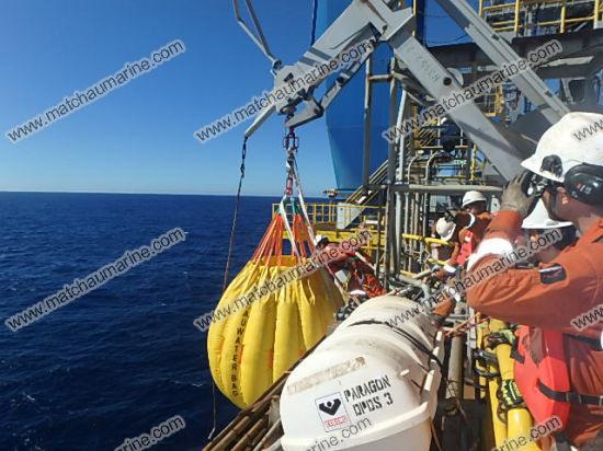 Life Boat Davit Test Water Bags