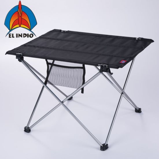 El Indio Ultralight Portable Folding Table Compact Roll Up Tables With Carrying Bag For Outdoor Camping Hiking Picnic